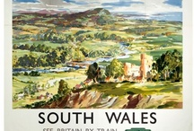 Vintage South Wales Posters