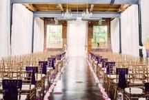 Wedding Setups / Examples of unique and interesting wedding ceremony & reception setups.