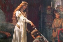 Chivalry in Art / Knights & ladies, and chivalric ideals in art, both old masterpieces and contemporary