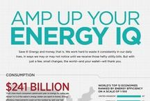 Energy Infographics / This pinboard lists important #energy facts.