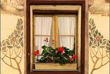 Doors, Windows, Passages / Beautiful, interesting doors, knockers, windows, gates and passages and their artful details.