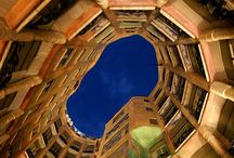 Gaudi / The designs of Antoni Gaudi. Strongly inspired by nature, art nouveau, oriental and gothic art.
