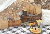 Inspirations- picnic / Zbiór inspiracji dotyczących przygotowania własnego pikniku- od wystroju po jedzonko.