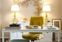 Home Office Ideas / Every home is different so every home office is different. So you have to consider everything from storage solutions to the right color to paint the walls. Below you will find some ideas for your home office with unique and creative style to get you inspired.