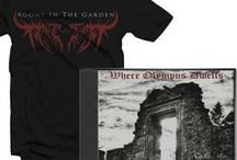 Agony's Merch! /  http://www.band-brand.us/collections/agony-in-the-garden / by Agony In The Garden
