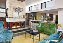 Eclectic Interior Design Style Ideas / Eclectic style is the oposite of boring. If you are all about mixing colors, patterns or styles the eclectic style is the answer for you. Take a look at these ideas and get inspired to star working this magical style that suits every design tastes.