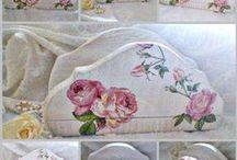 Szalvéta -, papírzsebkendő-,  teafiltertartók / Egyed tervezésű és kivitelezésű kézzel készített darabok.