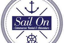 I love Sail On Catamaran