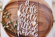Wedding Signs + Suites / Invites, signage, and love notes