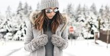 WINTER STYLE / Stay warm & cozy with these winter style picks.  winter style | winter fashion
