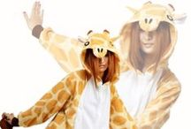 Giraffe Animal Adult Kigurumi Onesie 長頸鹿 / Having a hard time reaching for the cookies on the top of the shelf? Then why not wear the giraffe animal kigurumi onesie. You will definitely have an easier time reaching it.