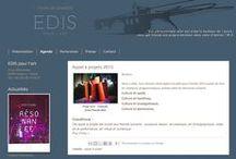 Sites, blogs / Objectifs : être visible et attractif sur le web. Chartes graphiques pour site ou blogs. Formation personnalisée.
