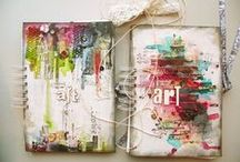 Art Journaling, sketches and the like / Art Journaling, sketches and the like / by Freja Kaos
