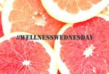 Wellness Wednesday / Pins about health, wellness and everything for a healthy lifestyle. #WellnessWednesday