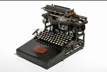 Typewriters / There are around 80 typewriters in Museo Nicolis, from the 19th to the middle of the 20th century, featuring curious and ingenious systems for mechanical writing.