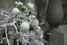 kerst / kerst  decoratie afkomstig van decoratietakken