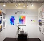 Affordable Art Fairs / ArStar takes place in the Affordable Art Fair in New York.