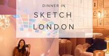FOOD IN LONDON: SKETCH / Sketch London is one of the best stylish and quirky restaurants you can experience in town. From pretty afternoon tea, quirky toilets, this gallery turned artsy restaurant has an interior and food worth experiencing. It's a bucket list for everyone who are traveling to London.  For more info, I share my travel stories in theclassicwanderer.com