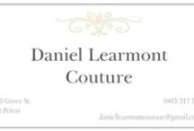 Daniel Learmont Couture / Daniel Learmont couture  2013 collection shot by #anastasiabladesphotography  Hats #carolynunwinhats  Shoes #terrybiviano