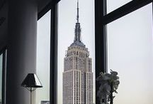 I LOVE FIFTH Empire State Building / Empire State Building 350 Fifth Avenue, Symbol of New York and Fifth Avenue.