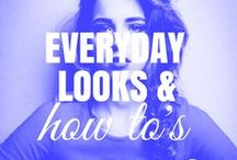 . EVERYDAY . / simple and easy ideas for your hair