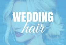 . WEDDING . / different hairstyles for that special day