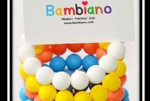 Bambiano Bracelets - Nicole / Bambiano Bracelets are made of 100% Food grade silicone. BPA free, Lead free and nontoxic. Fashionable for Mums and safe for teething babies to chew on. Pendants are washable and soft on baby's gums. Shop at www.bambiano.com