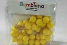 Bambiano Gift Sets / Bambiano Products are made of 100% Food grade silicone. BPA free, Lead free and nontoxic. Fashionable for Mums and safe for teething babies to chew on. Pendants are washable and soft on baby's gums. Shop at www.bambiano.com