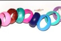 Bambiano Bangles - Hoola / Bambiano Bangles are made of 100% Food grade silicone. BPA free, Lead free and nontoxic. Fashionable for Mums and safe for teething babies to chew on. Pendants are washable and soft on baby's gums. Shop at www.bambiano.com