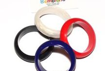 Bambiano Junior Bracelets - Princess / Bambiano Jr Bangles are made of 100% Food grade silicone. BPA free, Lead free and nontoxic. Fashionable for trendy girls 3 years and above. Necklaces are colourful, washable and soft against the skin. Shop at www.bambiano.com