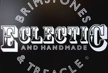 Brimstones & Treacle Boutique / We specialise in mid-century modern design & handmade retro furniture and accessories. Find us online and in person at our travelling boutique stalls.
