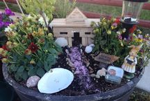 Fairy Gardens / Fairy Garden,.. I have fallen in love with a fun way to garden.   It is so magical and creative!