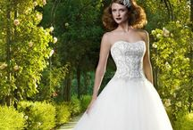 Casablanca / Casablanca Bridal Wedding Dresses reflect quality, original designs and attention to detail. Every Casablanca Wedding gown is made one at a time. Each gown is unique from the hand beaded designs and customized to every bride's specific needs.
