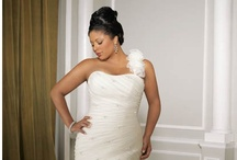 """Beautiful Plus Size Dresses / Not every bride is a """"perfect 10"""". In fact, sizes 14 and 16 are the two most common sizes ordered! Here's just a sample of the plus size gowns available at Trudys Brides!"""