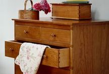 Relax in the Bedroom / Create your sanctuary with Shaker Style Furniture; beds, chests, side stands, night tables, dressers, bureaus & wardrobes.