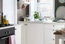IKEA Kitchen Design Inspiration / Some of our favorite IKEA kitchens from  around the world.
