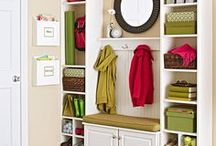 Mudrooms / Mudrooms: a great landing pad or starting point for your family's busy days! Here, your designing friends from IKD Inspired Kitchen Design offer peeks at some cool ideas to make your mudroom great.