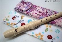 Capa para flauta
