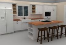 Our Full-Color Design Files / We make a high-quality, full-color rendering of an IKEA kitchen design for each customer.