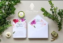 Wedding Stationery - Papeteria Ślubna / Design by Panna Bridette®