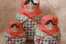 textilní panenky