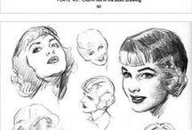 Kreslenie tváre / drawing face / tipy, triky a návody /tips, tricks and tutorials
