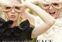Best Eyewear for Your Face Shape / Ideas for glasses that fit your face and your style.