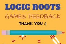 Logic Roots Math Games Feedback / This Board is all about why we do what we do. Thank you Players, we wouldn't be where we are without you! Our customers take on our Math Games- Games feedback and more! You too liked our games? Or want to know about the products, email kanu@LogicRoots.com We are waiting!:)  #homeschool math