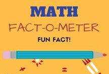 Math Fact-o-Meter! / This Board is a collection of Math facts. With lots of #DidyouKnow and fun facts, this board will make you fall in love with Math and Math games. Go ahead and Repin or post your suggestions and facts. To be a pinner, contact kanu@LogicRoots.com  All are Welcome, Stay Amused! Because Truth Math-ers!!