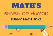 Math's Sense of Humor / This Board is all about good sense of humor. If you have one then you will get it! Math can be funny too because we make fun math games and we LOVE it. Post pictures and smile on a boring day from other's pin. To be a pinner, email kanu@LogicRoots.com  All are Welcome.  So, are you crazy enough?  #homeschool math