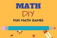 DIY Math Resources for Homeschoolers, Teachers and Parents / Looking to include some DIY fun to the math lessons of your kids in elementary school? Your search ends here. Great math DIY math manipulatives, games and ideas to make math practice and learning fun for kids.