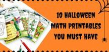Halloween Math Fun! / Happy Halloween! Make your Halloween a Math Halloween. Add math fun to your Halloween celebrations. Halloween Math Games, Math DIY, Halloween worksheets and printables. Every Halloween math need of a homeschooler, teacher or parent will be fulfilled here.