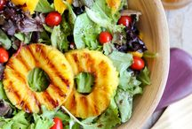 REZEPTE // SALAT / Ein richtig guter Salat ist so viel mehr als eine simple Beilage. Auf diesem Board zeige ich dir grandiose Rezepte für die verschiedensten Salate. Und natürlich sind ein paar 1A Beilagensalate auch dabei ;)