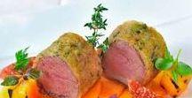 REZEPTE // FLEISCH / Rezepte rund um Rindfleisch, Schweinefleisch, Hähnchen und Hackfleisch.
